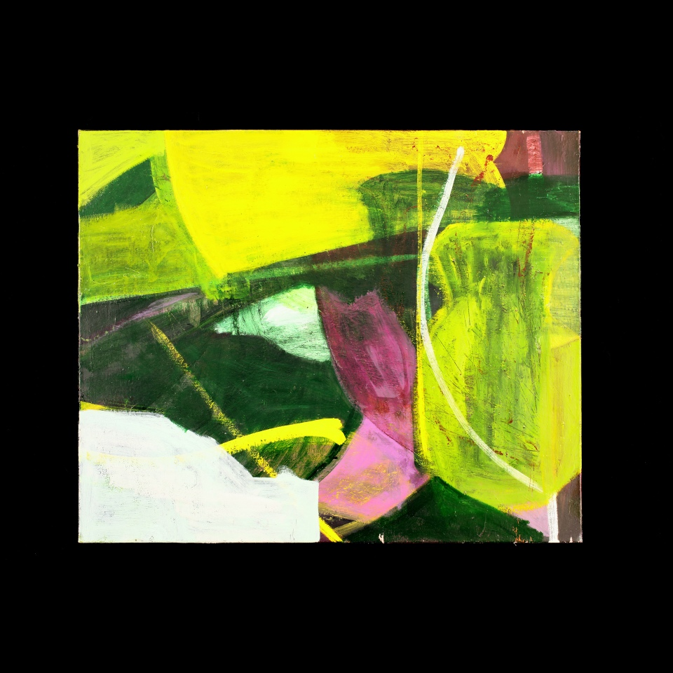 """Vessel P#5, Oil paint on canvas, 28"""" x 34"""""""